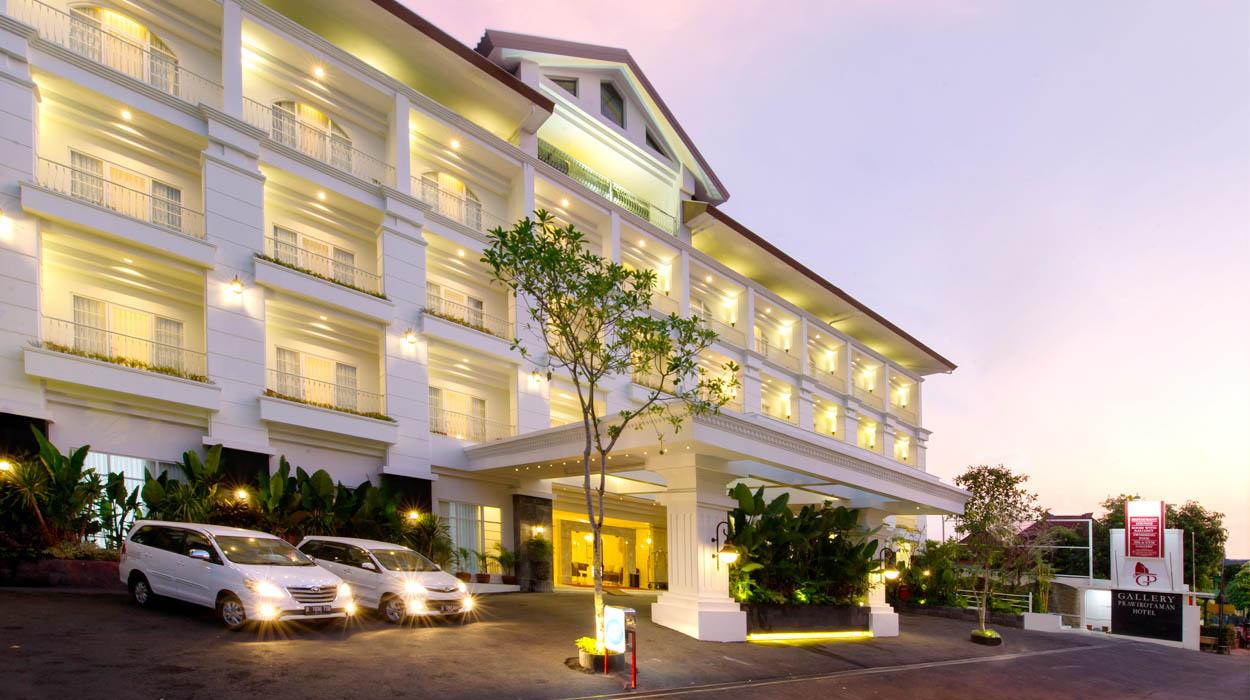 Gallery Prawirotaman Hotel depan