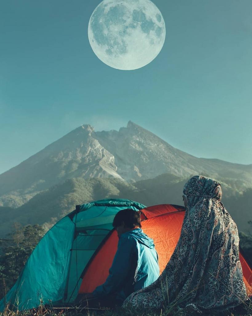 gunung merapi de jogja