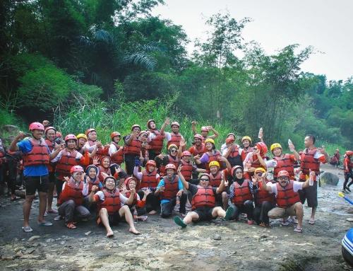Arung Jeram Sungai Elo Magelang Memacu Adrenalin