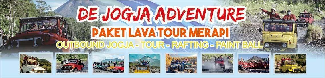 PAKET LAVA TOUR MERAPI – DE JOGJA ADVENTURE Logo